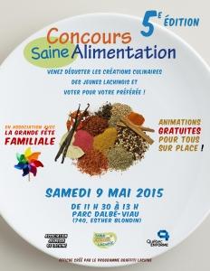 Affiche Concours SA 2015